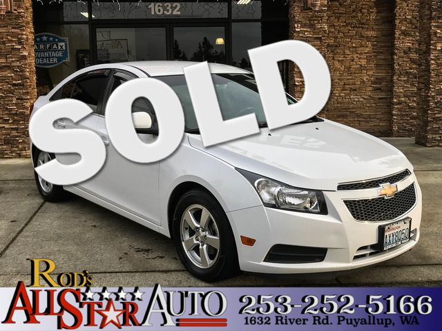 2013 Chevrolet Cruze 1LT The CARFAX Buy Back Guarantee that comes with this vehicle means that you
