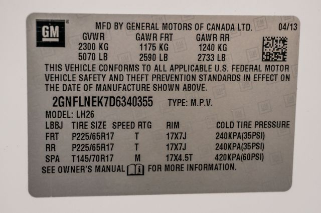 2013 Chevrolet Equinox LT2 4WD - AUTO - HTD STS - 81K MILES Reseda, CA 40