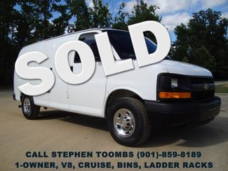 2013 Chevrolet Express Cargo Van 1-OWNER, V8, BINS, LADDER RACKS in  Tennessee