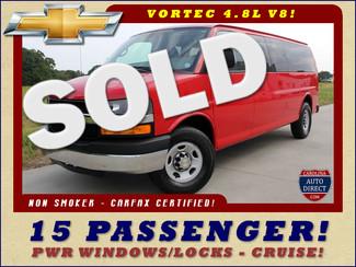 2013 Chevrolet Express 3500 LT EXT 15 PASSENGER VAN Mooresville , NC
