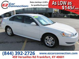 2013 Chevrolet Impala LT | Frankfort, KY | Ez Car Connection-Frankfort in Frankfort KY