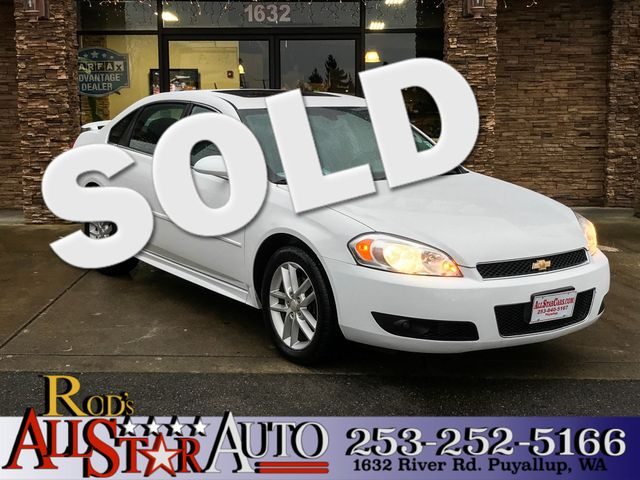 2013 Chevrolet Impala LTZ The CARFAX Buy Back Guarantee that comes with this vehicle means that yo