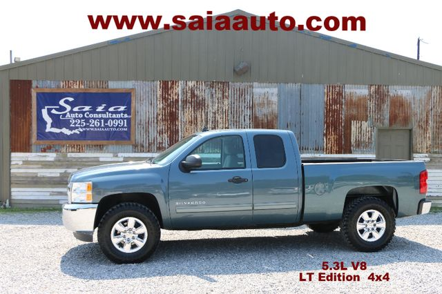 2013 Chevorelt Silverado 1500 Extra Cab Z71 4wd Lt 5.3 V8 LTHR LEVELED NEW TIRES TWO OWNER CARFAX SERVICED DETAILED READY TO GEAUX | Baton Rouge , Louisiana | Saia Auto Consultants LLC in Baton Rouge  Louisiana