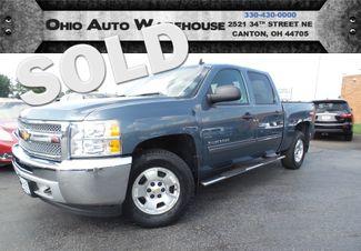 2013 Chevrolet Silverado 1500 LT 4x4 CrewCab 1-Own Clean Carfax We Finance | Canton, Ohio | Ohio Auto Warehouse LLC in  Ohio