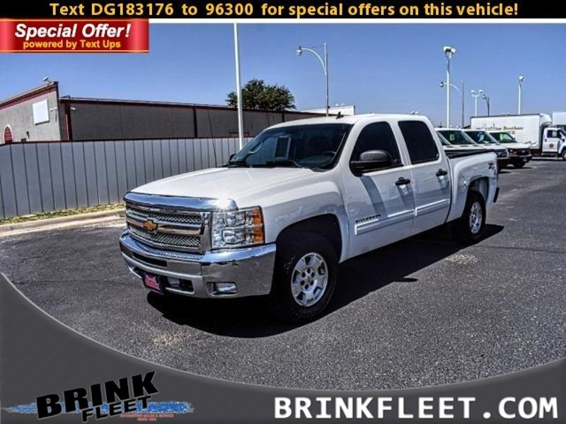 2013 Chevrolet Silverado 1500 LT   Lubbock, TX   Brink Fleet in Lubbock TX