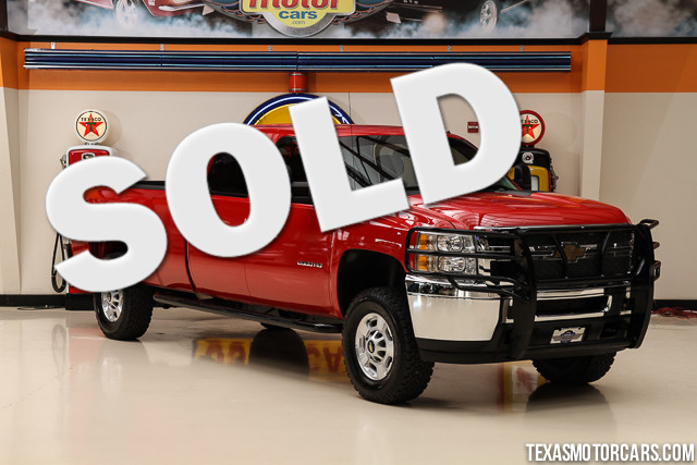 2013 Chevrolet Silverado 2500HD Work Truck This Carfax 1-Owner 2013 Chevrolet Silverado 2500HD Wor
