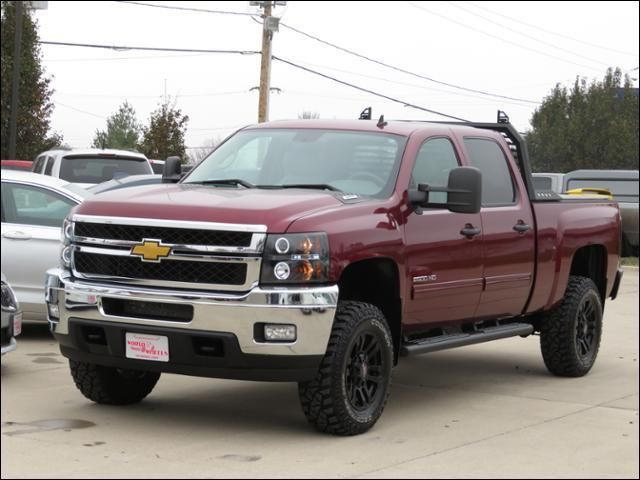 2013 Chevrolet Silverado 2500HD LT 4WD Leather/Lifted/Black20s/BackRack in Des Moines IA