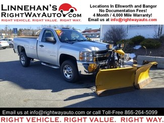 2013 Chevrolet Silverado 2500HD Work Truck in Bangor