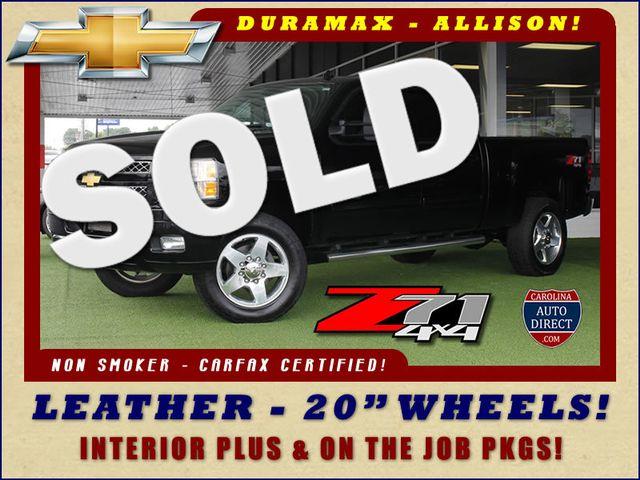 2013 Chevrolet Silverado 2500HD LT Crew Cab 4x4 Z71 - DURAMAX - LEATHER! Mooresville , NC 0
