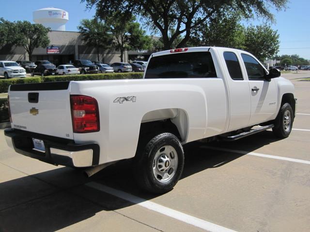 2013 Chevrolet Silverado 2500HD X/Cab 4x4 LWB 1 Owner, Service History, X/Clean Plano, Texas 11