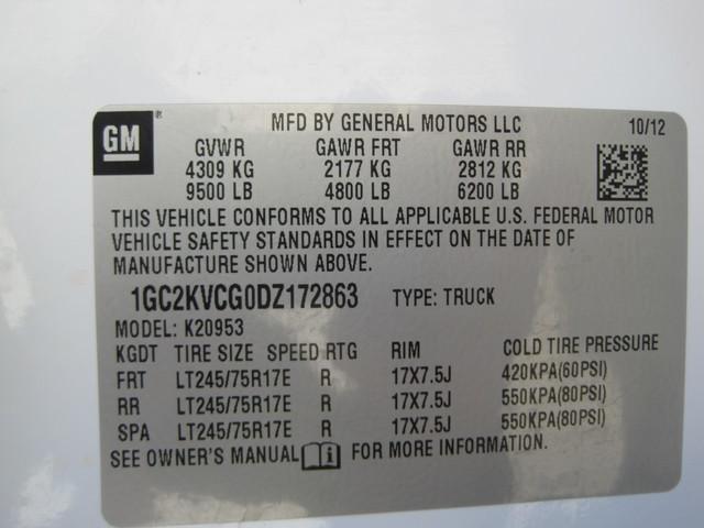 2013 Chevrolet Silverado 2500HD X/Cab 4x4 LWB 1 Owner, Service History, X/Clean Plano, Texas 36