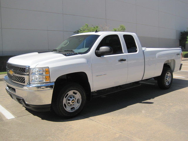 2013 Chevrolet Silverado 2500HD X/Cab 4x4 LWB 1 Owner, Service History, X/Clean Plano, Texas 4