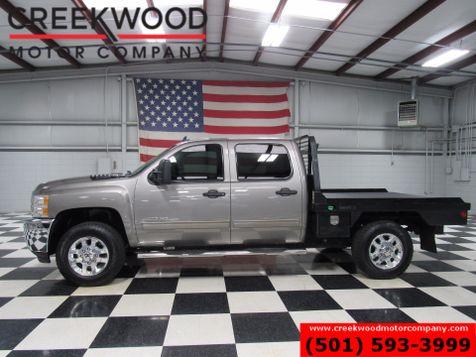 2013 Chevrolet Silverado 2500HD LT 4x4 Diesel Crew Cab Hay Forks Flatbed Low Miles in Searcy, AR