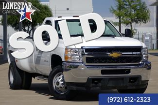 2013 Chevrolet Silverado 3500 W/T One Owner Clean Carfax 4x4 DRW Warranty