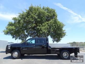 2013 Chevrolet Silverado 3500HD Flat Bed Crew Cab Work Truck 6.6L Duramax Diesel 4X4 in San Antonio Texas
