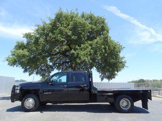 2013 Chevrolet Silverado 3500HD Flat Bed Crew Cab Work Truck 6.6L Duramax Diesel 4X4 | American Auto Brokers San Antonio, TX in San Antonio Texas
