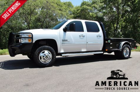 2013 Chevrolet Silverado 3500HD LT - LEATHER - SKIRTED FLATBED - 4X4 in Liberty Hill , TX