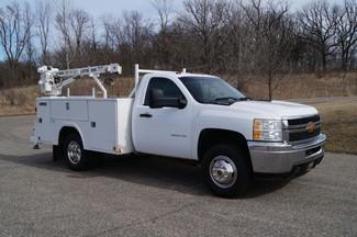 2013 Chevrolet Silverado 3500HD - Service Utility Truck w/ Crane - 4WD 6.0L Gas-[ 2 ]