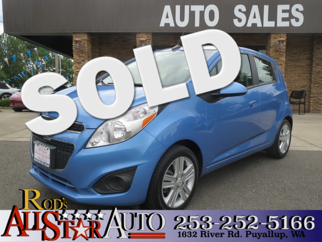 2013 Chevrolet Spark LT The CARFAX Buy Back Guarantee that comes with this vehicle means that you