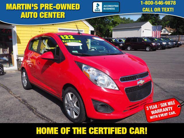 2013 Chevrolet Spark LT | Whitman, Massachusetts | Martin's Pre-Owned