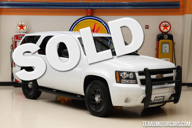2013 Chevrolet Tahoe Police This 2013 Chevrolet Police Tahoe is in great shape with only 75 932 m