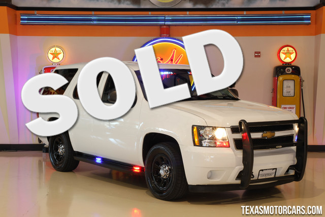 2013 Chevrolet Tahoe Police This 2013 Chevrolet Tahoe Police is in great shape with only 63 567 m