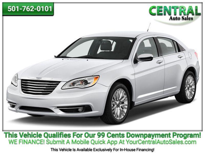 Central Auto Sales >> 2013 Chrysler 200 Lx Hot Springs Ar Central Auto Sales Hot