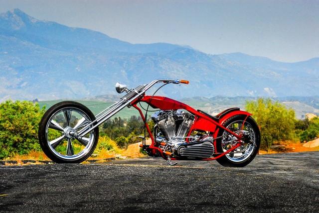 2013 Custom Chopper  | Concord, CA | Carbuffs