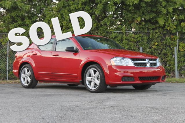 2013 Dodge Avenger SE  WARRANTY CARFAX CERTIFIED GAS SAVER FLORIDA VEHICLE TRADES WELCOME