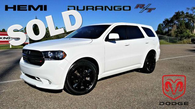 2013 Dodge Durango RT 5.7 Hemi R/T Tow Black Leather | Palmetto, FL | EA Motorsports in Palmetto FL