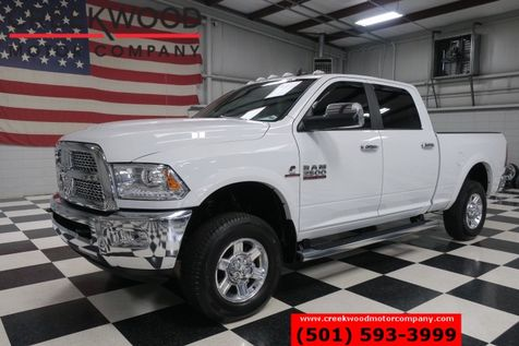 2013 Dodge Ram 2500 Laramie 4x4 Diesel White Low Miles Lthr Nav Chrome in Searcy, AR