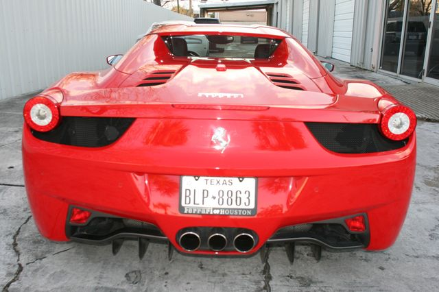2013 Ferrari 458 Italia Spyder Houston, Texas 5