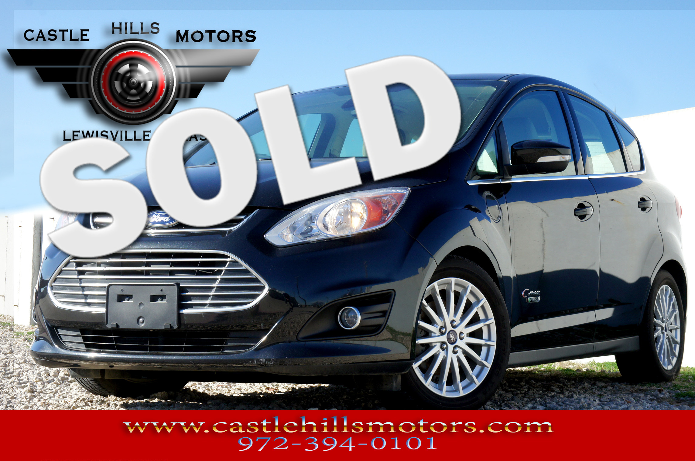 2013 Ford C-Max Energi  **INCLUDES 2 YRS FREE MAINTENANCE** SEL - Leather, Hybrid, Hot Seats, Bluetooth in Lewisville Texas