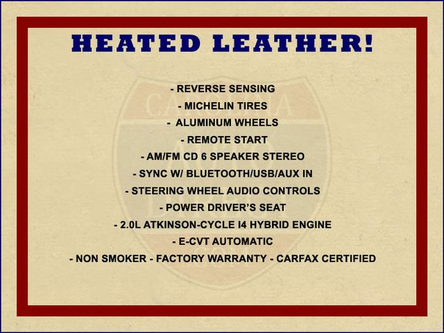 2013 Ford C-Max Hybrid SEL FWD - HEATED LEATHER! Mooresville , NC 1