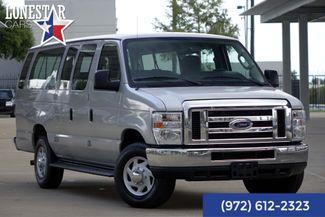 2013 Ford E350 Van XLT  11 Passenger Clean Carfax in Plano Texas, 75093