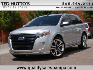 2013 ford edge sport pampa texas ted hutto 39 s quality sales. Black Bedroom Furniture Sets. Home Design Ideas