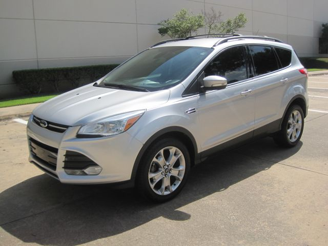 2013 Ford Escape SEL, Ecoboost, Leather, Nav, Sync, Htd/Mem Seats, 1 Owner Plano, Texas 4
