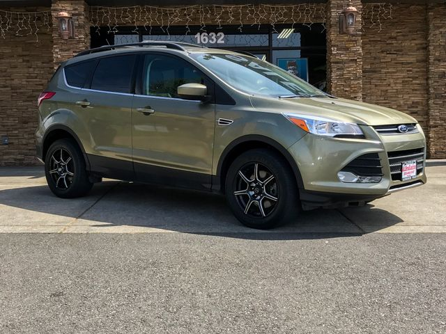 2013 Ford Escape SE Green 2013 Ford Escape SE AWD 6-Speed Automatic EcoBoost 20L I4 GTDi DOHC Tur