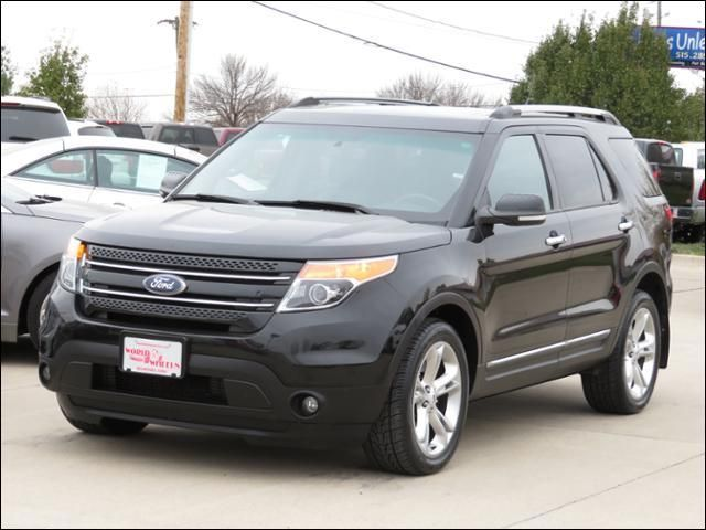 15 Photos ... & 2013 Ford Explorer Limited 4WD w/Panoramic | Des Moines IA 50313