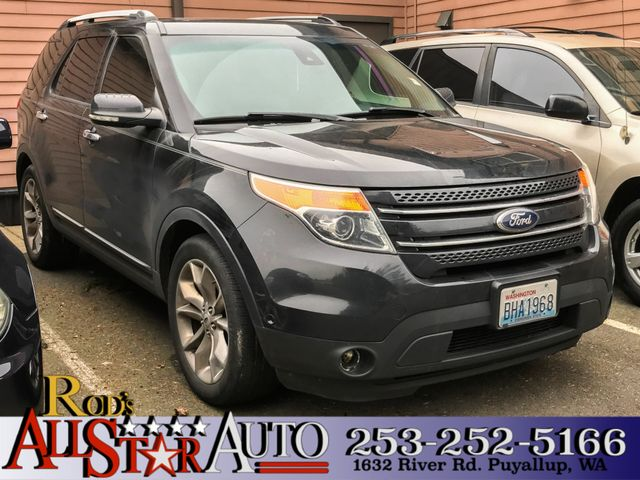 2013 Ford Explorer Limited The CARFAX Buy Back Guarantee that comes with this vehicle means that y