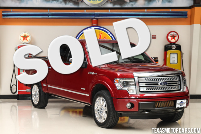 2013 Ford F-150 Platinum 4x4 This 2013 Ford F-150 Platinum 4x4 is in great shape with only 29 888