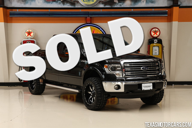 2013 Ford F-150 Lariat 4x4 This Carfax 1-Owner 2013 Ford F-150 Lariat Crew Cab 4x4 is in great sha