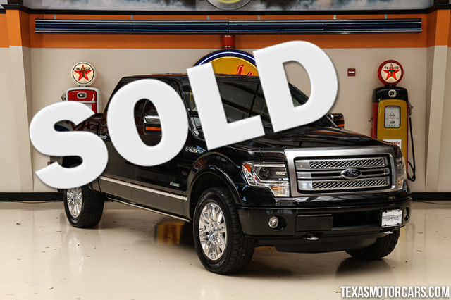2013 Ford F-150 Platinum 4x4 This 2013 Ford F-150 Platinum 4x4 is in great shape with only 139 13
