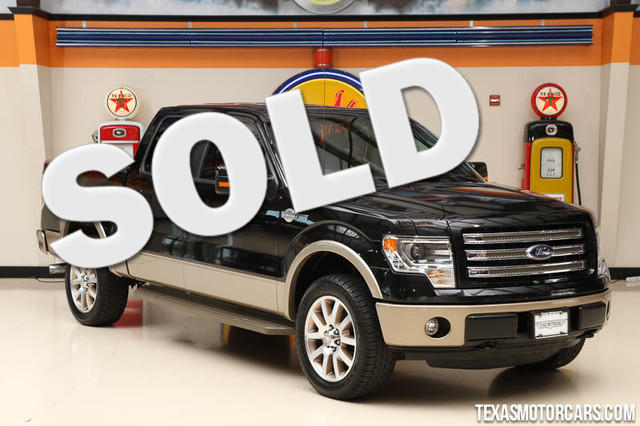 2013 Ford F-150 King Ranch This Carfax 1-Owner 2013 Ford F-150 King Ranch is in great shape with o