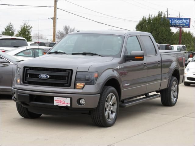 2013 Ford F-150 4WD SuperCrew FX4 Leather/Sunroof/Nav/Sony in Des Moines IA
