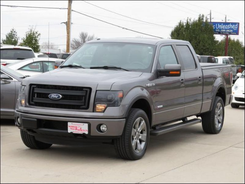 2013 Ford F-150 4WD SuperCrew FX4 Leather/Sunroof/Nav/Sony in Ankeny IA
