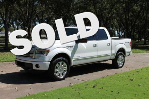 2013 Ford F-150 Platinum Supercrew 4WD Ecoboost in Marion, Arkansas