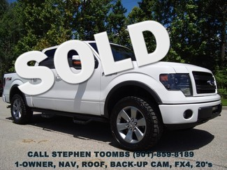 2013 Ford F-150 FX4, 1-OWNER, NAV, ROOF, BACK-UP, 20's in Memphis Tennessee