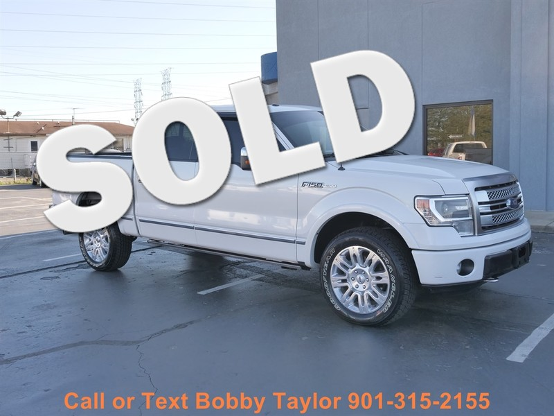 2013 Ford F-150 Platinum in Memphis Tennessee