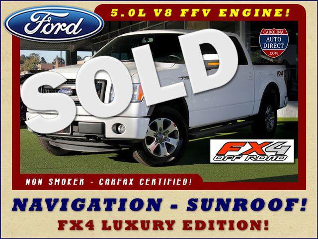 2013 Ford F-150 FX4 Luxury Edition SuperCrew 4X4 - NAV - SUNROOF! Mooresville , NC 0
